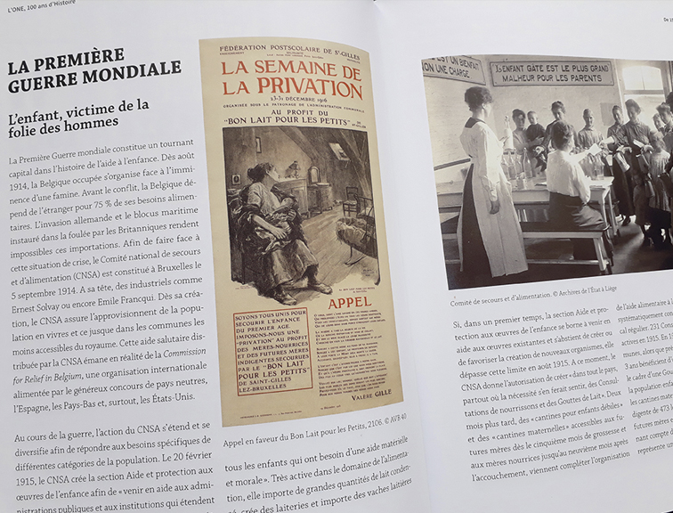ONE, 100 ans d'histoire