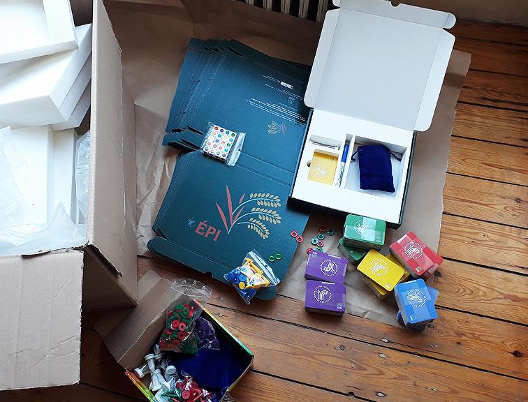 ÉPI - Boîte de jeu, Entraide & Fraternité